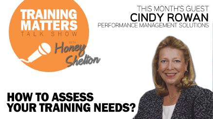 Training Matters - Assessing Training Needs