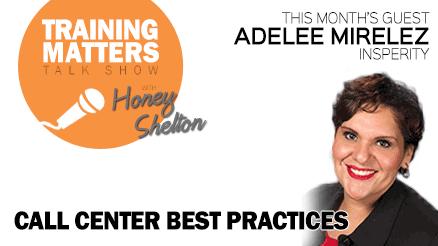 Training Matters Talk Show Episode 5 Call Center Best Practices