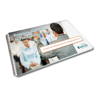Engaging Supervisors In The Training Process Free e-book