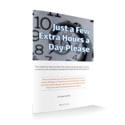 Just a Few Extra Hours a Day Please: Time Management Advice