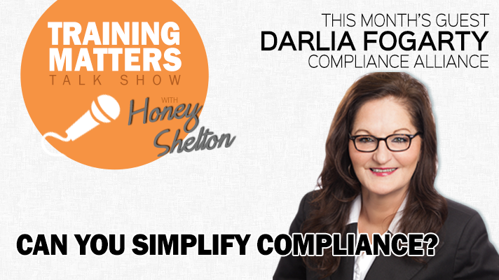 Training Matters Talk Show: Can You Simplify Compliance?