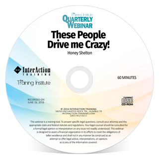These People Drive me Crazy webinar with Honey Shelton