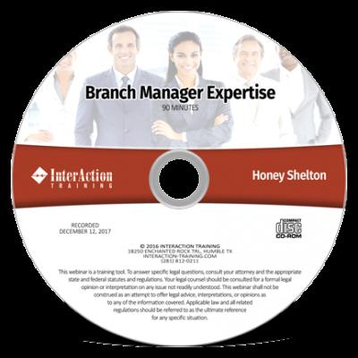Branch Manager Expertise CD-ROM