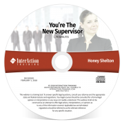You're the New Supervisor Webinar on CD-ROM with Honey Shelton