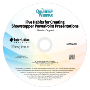 5 Habits for Creating Showstopper PowerPoint Presentations CD-ROM